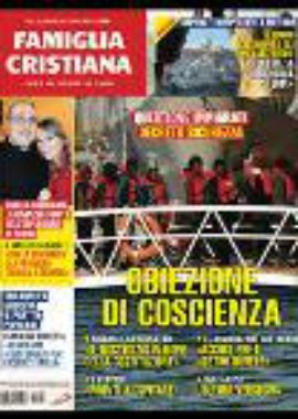 Copertina Famiglia Cristiana 3-2019
