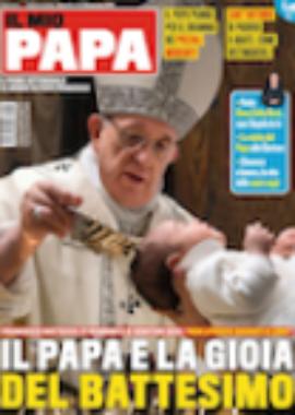 Copertina dell'audiolibro Il mio papa 4-2019