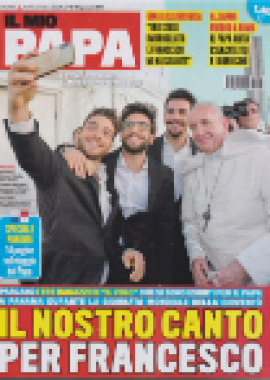 Copertina Il mio papa 6-2019