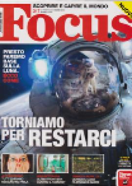 Copertina Focus Marzo 2019