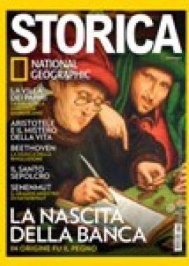 Copertina dell'audiolibro Storica Aprile 2019