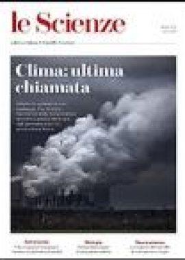 Copertina Le Scienze Aprile 2019