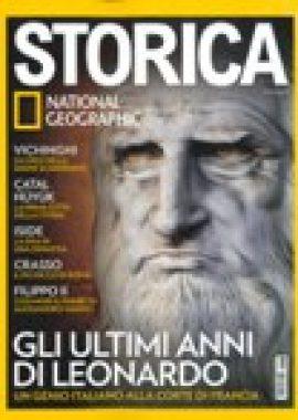 Copertina dell'audiolibro Storica Maggio 2019