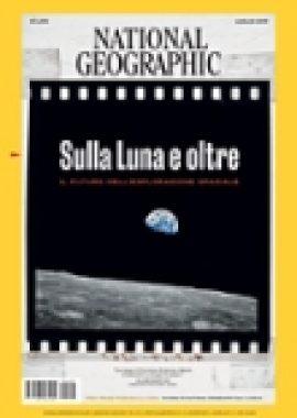 Copertina dell'audiolibro National Geographic Luglio 2019