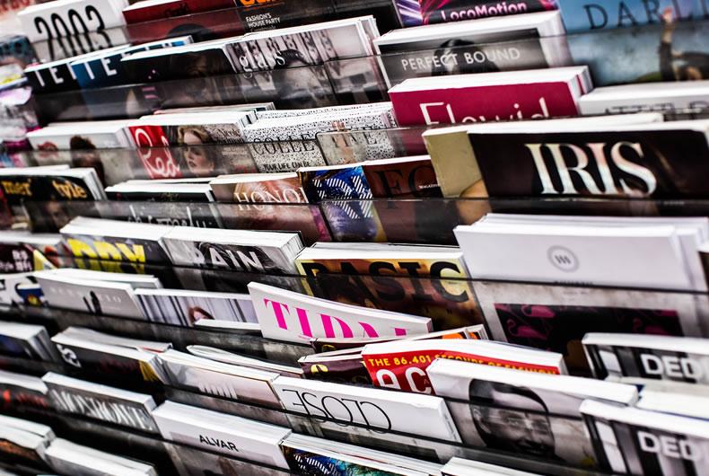 Tante riviste esposte