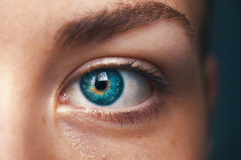 Particolare di un occhio