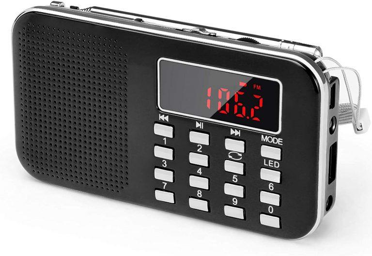 Lettore mp3 che permette l'ascolto degli audiolibri inseriti in una chiavetta USB