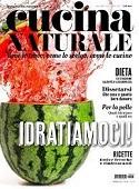 Copertina dell'audiolibro Cucina Naturale Luglio-Agosto 2021