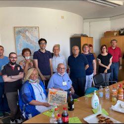 Lo staff del CILP in compagnia del Dott. Bianchi