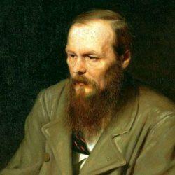 Dipinto che ritrae Fedor Dostoevskij