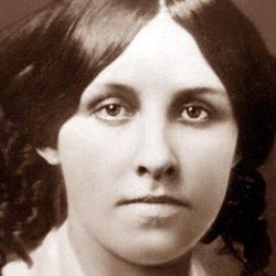Primo piano di Louisa May Alcott
